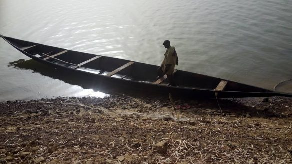 La pirogue financée par l'association, bientôt en service